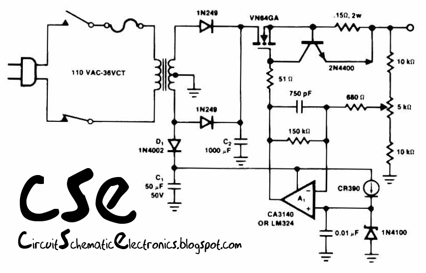 battery charger circuit Page 6  Power Supply Circuits  Nextgr