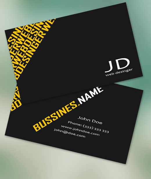 100+ Free Business Card Templates to Download ( Free PSDs