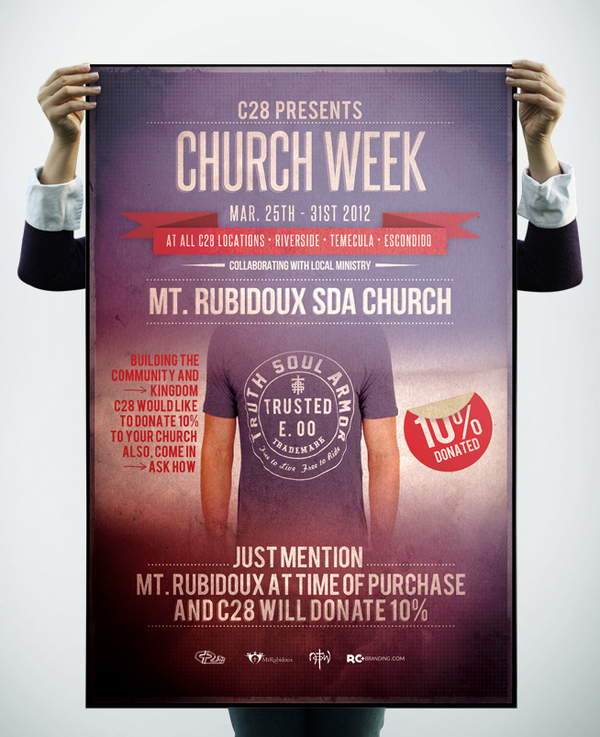 Inspirational Examples of Church  Religious Marketing NextDayFlyers