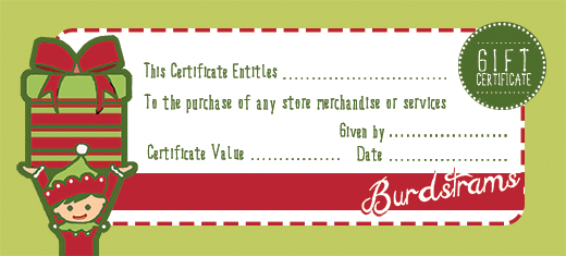 christmas gift certificates templates free - Rainforest Islands Ferry - gift certificate free templates