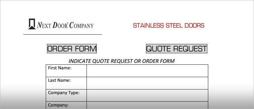 Quote Request Form. sample web forms templates - onwebioinnovate ...