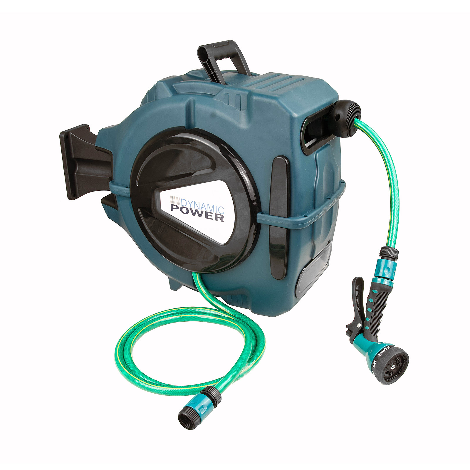 20m Retractable Water Hose Reel with Nozzle