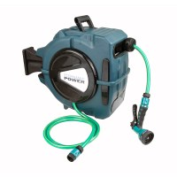20m Retractable Water Hose Reel with Nozzle - Dynamic Power