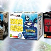 Nintendo lanzará en junio tres nuevos packs de New Nintendo 3DS. ¿Cuál es el tuyo?