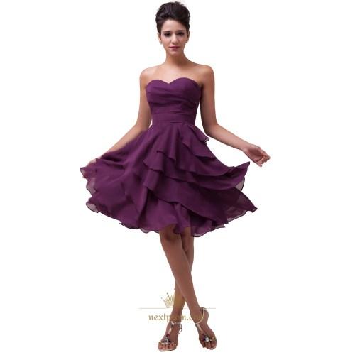 Medium Crop Of Purple Bridesmaid Dresses
