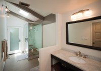 Bathroom remodel, steam shower - Nexxus Remodeling