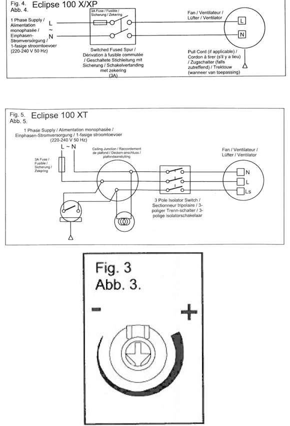 bathroom extractor fan wiring regulations