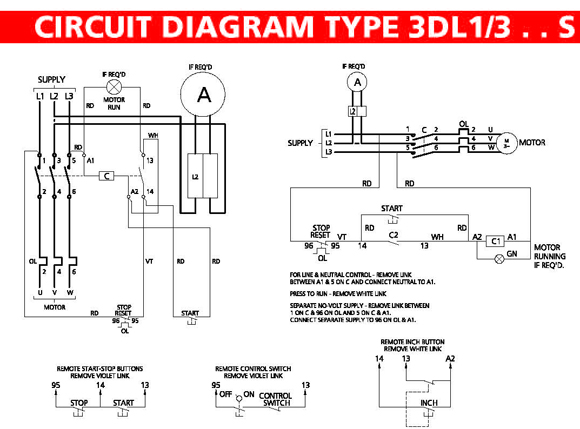 Wiring Diagrams Also Contactor Motor Repalcement Parts And Diagram