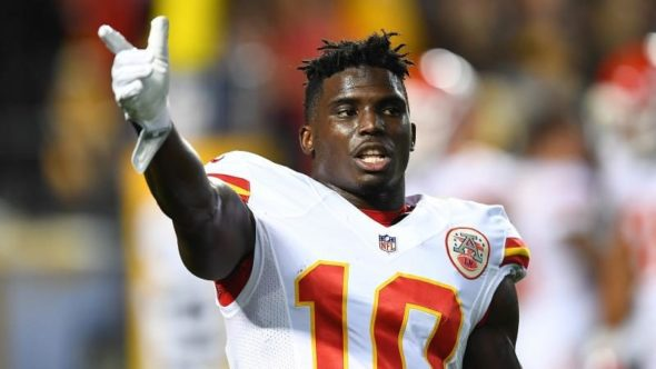 Tyreek Hill says the Chiefs will have the best offense in the NFL