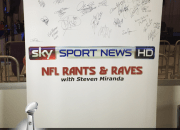 Signed NFL Rants & Raves Banner