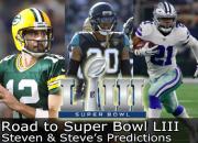 2018 Predictions - Road to Super Bowl LIII