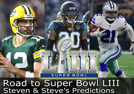 2018 Predictions - Road to Super Bowl LIII