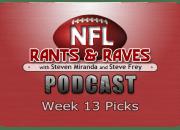 Week 13 Picks