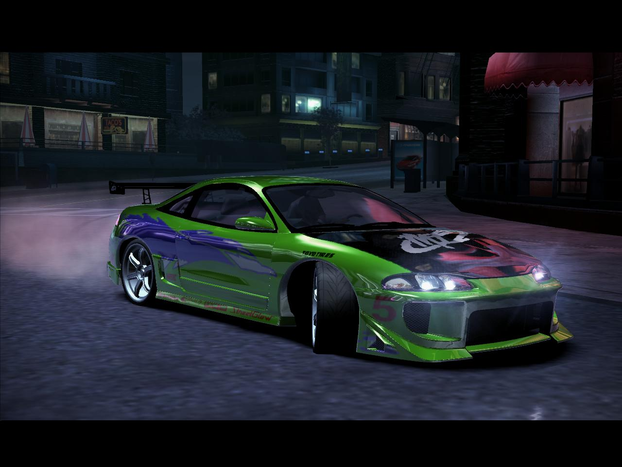 Nfs Carbon Cars Wallpaper Need For Speed Carbon Mitsubishi Mitsubishi Eclipse Gsx