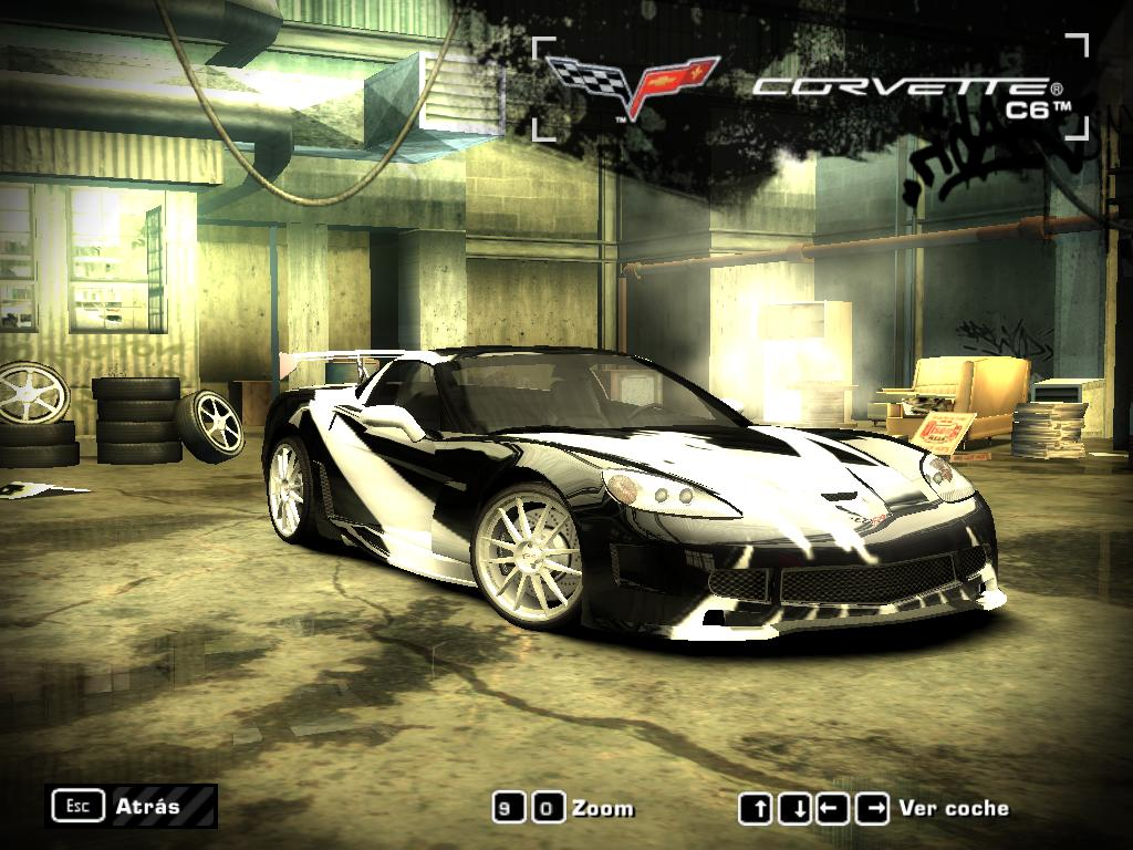 Nfs Carbon Cars Wallpaper Need For Speed Most Wanted Chevrolet Corvette C6 Cross