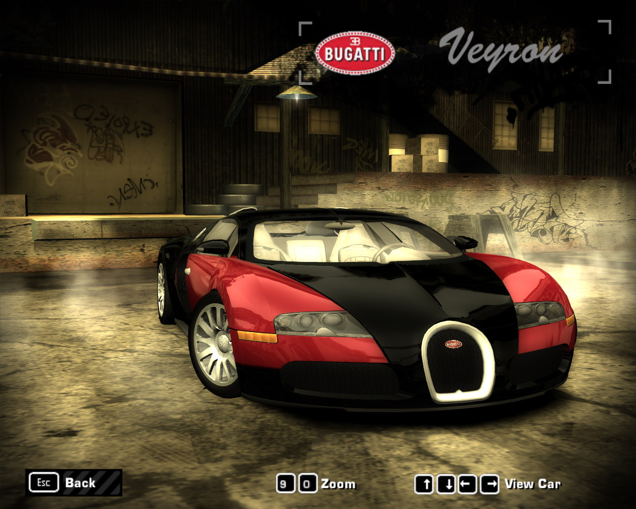 Widescreen Car Wallpaper Need For Speed Most Wanted Bugatti Veyron Fully Tunable
