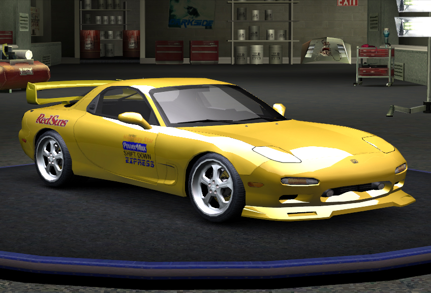 Nfs Movie Cars Wallpaper Initial D Keisuke S Rx7 1 1 By Wankel Rotary Need For