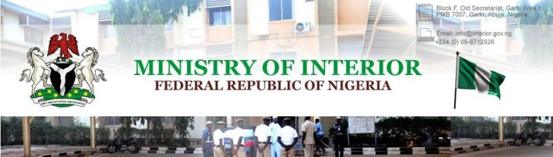 Federal Ministry of Interior Recruitment 2013