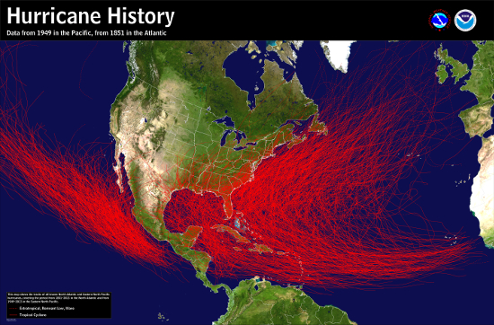 Hurricane Season Statistics - Track The Tropics - Spaghetti Models