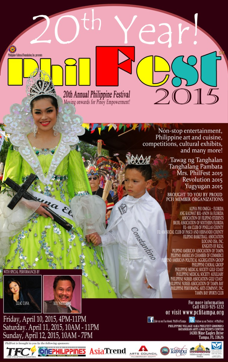 PhilFest 2015 in Tampa, Florida
