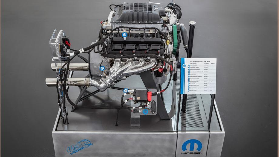 Mopar introduces 1,000-horsepower 426 Crate Hemi engine at SEMA Show | NHRA