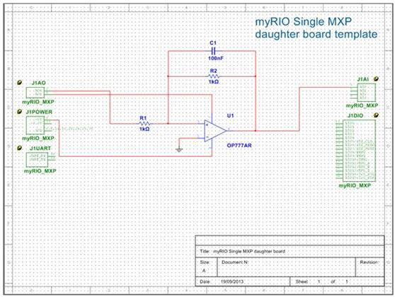Synchronize Schematic and Layout for Student Design with Templates