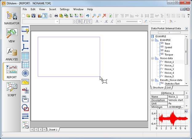 Create Your Report in DIAdem - National Instruments