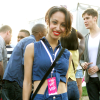 Street Style: Sugababes, Ponchos & Maxi Skirts at Wireless Festival 2011