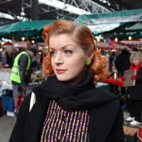 Street Style: 50's Bombshell Christie Goule