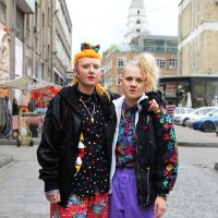 Street Style: Sophie & Emily In Old Truman Brewery