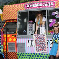 On Tour: House Of Holland's Mr Quiffy Ice Cream Van Shop