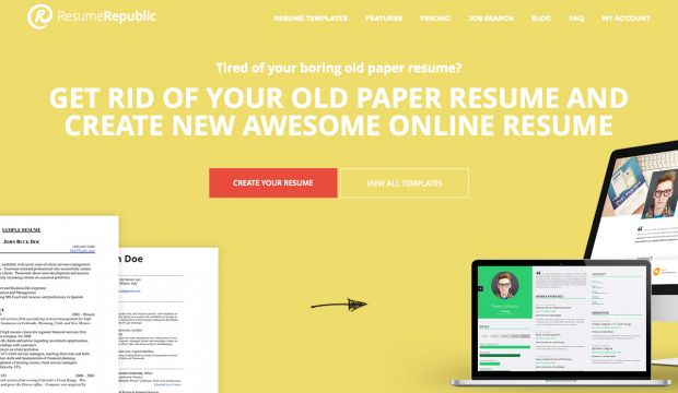 free resume hosting provider and online resume builder - Resume - resume design inspiration