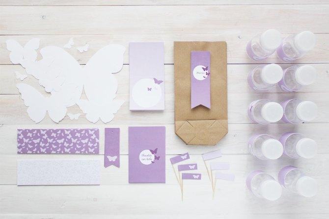 Nice Box PAck de fiesta mariposa