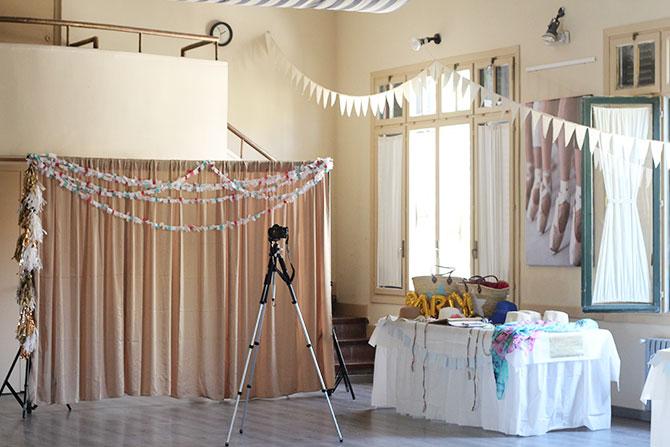 Nice Party fiesta 70 cumpleaños decoración y mesa de dulces dorado (1)