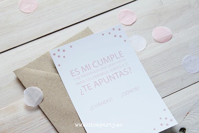 Nice Party invitación imprimible gratis motivo confetti (2)