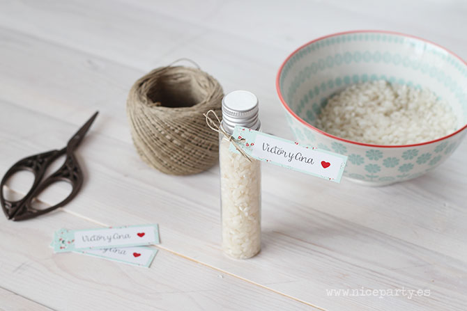 Nice Party tubos de arroz para bodas (2)