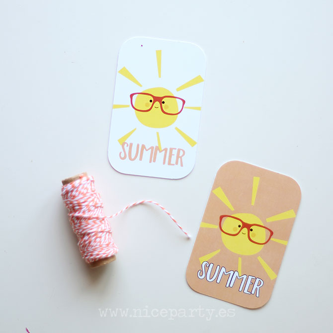 Summer Party printables (10)