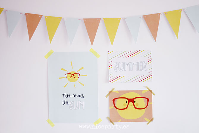 Summer Party printables (5)