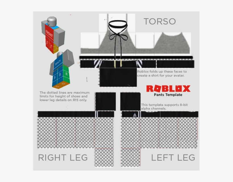 Gray Halter/w Adidas Shorts Fishnet - Roblox Shirt Template 2018
