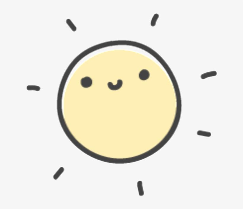 Hand Drawn Smiling Sun Vector - Encapsulated Postscript Transparent