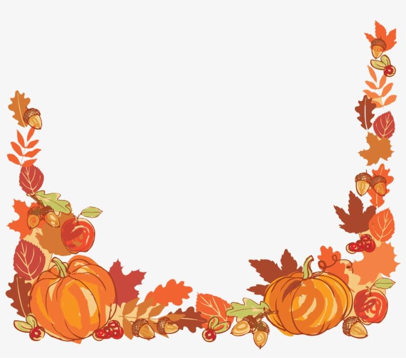 Thanksgiving Autumn Leaf Color Clip Art - Thanksgiving Harvest Png