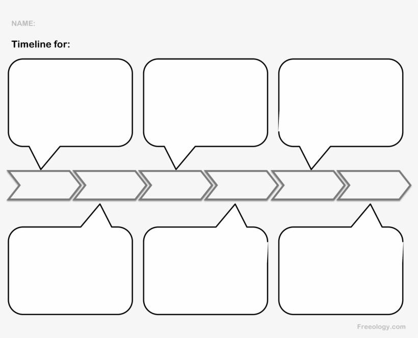 Transparent Timeline Blank - Blank Timeline Template Transparent PNG
