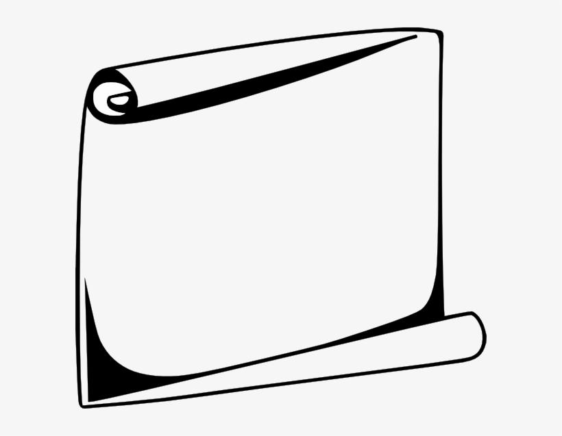 Scroll Border Design Transparent PNG - 600x557 - Free Download on