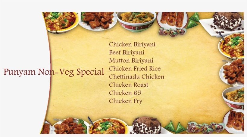Your Choice Veg Menu - Sample Advertisement Of A Restaurant