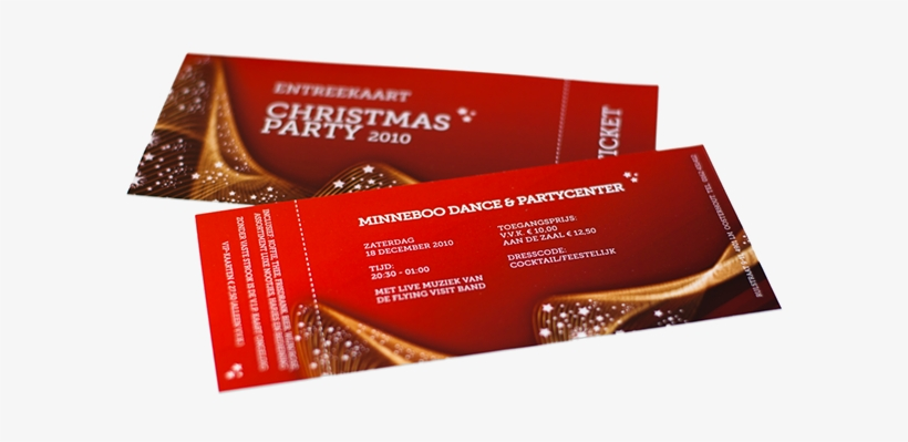 Christmas Party Ticket Template Free - Free Template Event Ticket