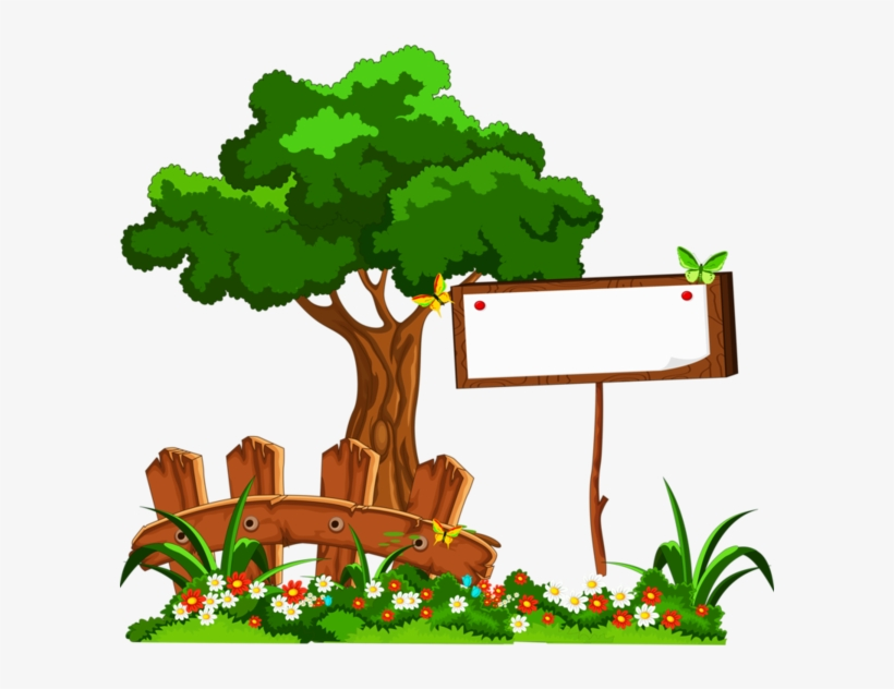 School Frame, Paper Frames, Page Borders, Borders And - Tree Clipart