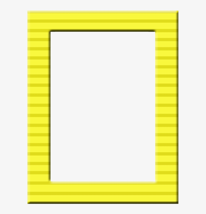 Printable Frames, Borders And Frames, Frame Clipart, - Yellow