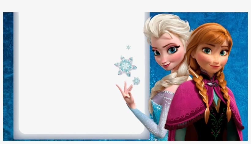 Disney Frozen Png Download - Template Printable Frozen Birthday