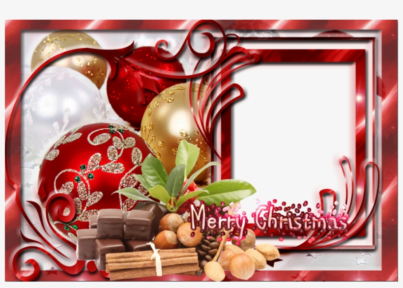 Download Transparent Christmas Frames Clipart Borders - Transparent