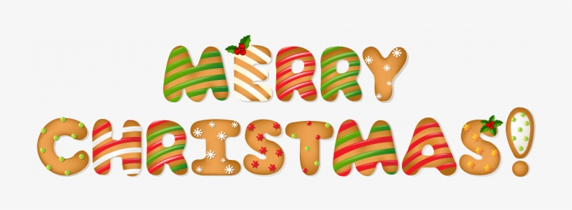 Merry Christmas And Happy New Year Banner Clipart - Cute Merry